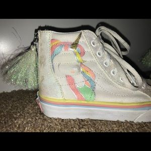 Vans Shoes - Youth Unicorn Vans High Tops Size 13